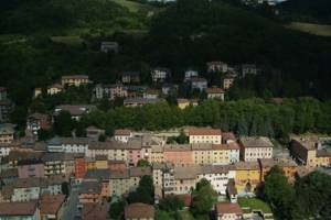 Pavullo vista aerea foto di Stefano Torreggiani